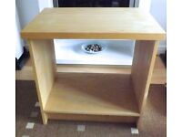 Heavy-duty wooden desk unit not flatpack many uses such as table sideboard office craft storage etc