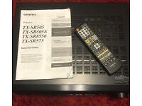 Onkyo TX-SR505E 7:1 Home Cinema Amp with HDMI