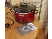 Slow Cooker - Crock Pot for sale - with FREE COOKING BOOK, £15
