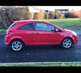 Vaxhuall corsa red