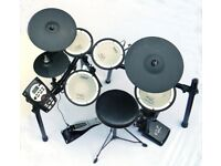 Electric Drum Kit Roland TD 11 KV Mesh Head Toms and Snare Full Working Order , Excellent Condition