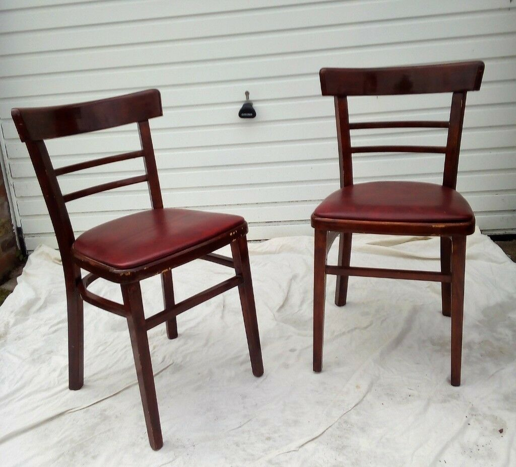 Vintage Retro Kitchen Dining Chairs In Newbiggin By The