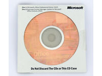 Genuine Microsoft Office Professional / Pro 2003 with Business Contact Manager (Word Excel Outlook)