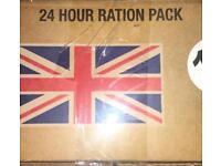 1 x 24hr ration pack. Survival, Hiking, Walking, Trekking or Fishing