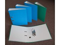 5 x NEW Arch Lever Ring Binders