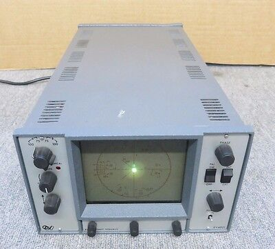 Electronic Visuals Ev-4021 Analogue Component Waveform Monitor Test Equipment
