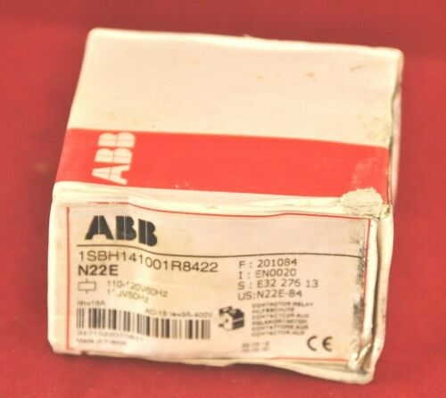 ABB N22E-84 Control Relay Coil 120V 6 Amp Made in France-not China