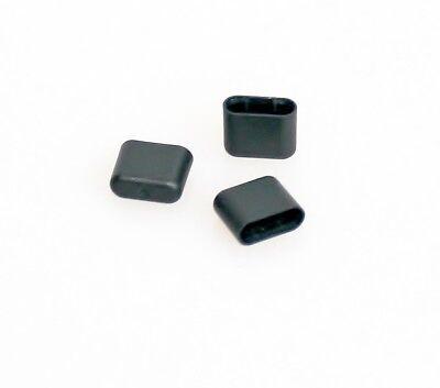 3x Staub-Schutz Abdeckung USB C-Stecker schwarz Caps Cover Staubschutz