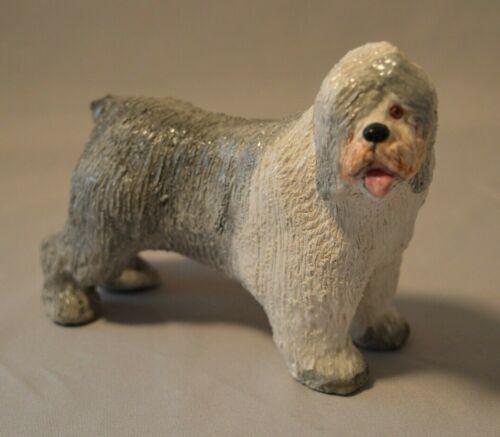 Vintage Original Basil Matthews English Sculpture - Old English Sheep Dog Signed