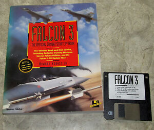 FALCON 3 THE OFFICIAL COMBAT STRATEGY BOOK IN INGLESE CON DISCO - Italia - FALCON 3 THE OFFICIAL COMBAT STRATEGY BOOK IN INGLESE CON DISCO - Italia