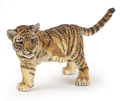 Papo 50184 Tiger Cub Paw Up Model Wild Animal Figurine Toy - NIP