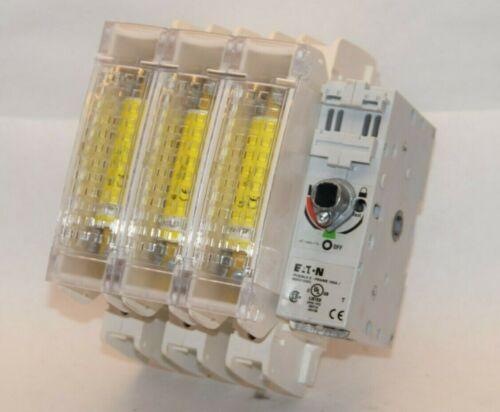 EATON Fusible K Frame J100A 100A R9K3100FJ 600V 3ph Fusible Disconnect Switch