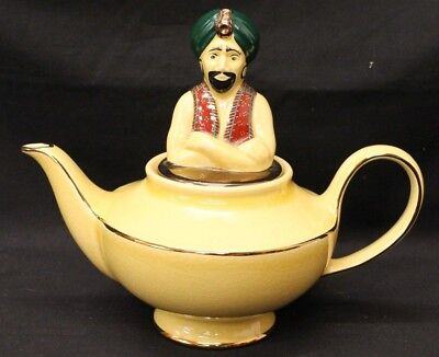Rare Wade The Genie Teapot Yellow Good Condition R80 (028A)