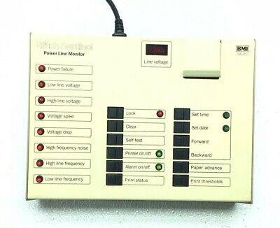 Bmi Gs-2x Glitch Sentinel Power Line Monitor