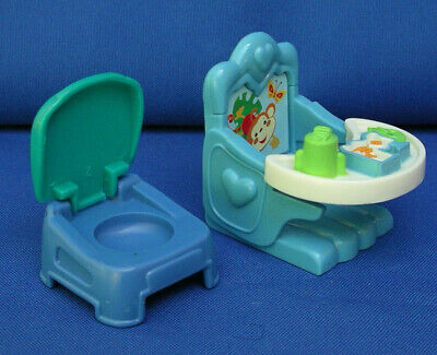 Fisher Price Loving Family Doll house Furniture Baby Nursery potty chair lot/set