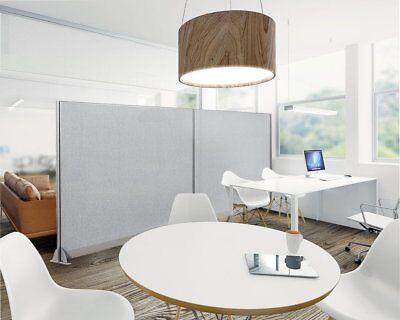 Gof Wall Mounted Office Partition Panel Room Divider 48 Height 4ft