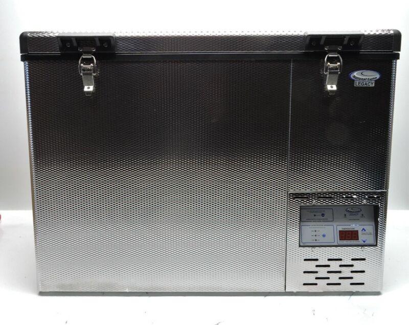 National Luna NL 55 Legacy Stainless Steel Refrigerator & Freezer NL55 FRI-10553