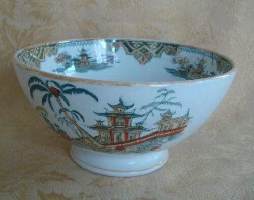 Antique Honc Petrus Regout Meastricht & Co Holland Oriental Pattern Serving Bowl