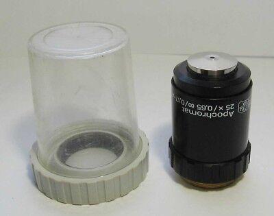 Carl Zeiss Jena Apochromat 25x 065 Objective Microscope