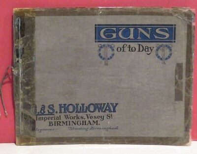 G. & S. Holloway-Birmingham-England-Shotguns Catalogue - Circa (Department Stores Birmingham)