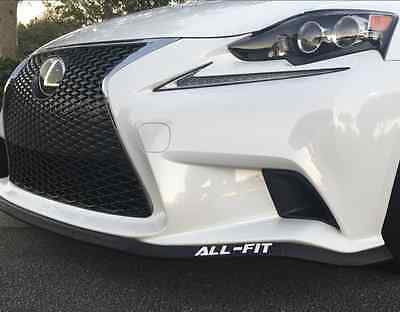 * ALL-FIT UNIVERSAL LIP KIT LAND ROVER CAR SPOILER SPLITTER VEHICLE EZ AIR BODY