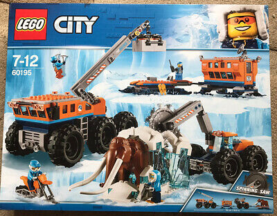 Lego 60195 - City Arctic Mobile Exploration Base - Brand New