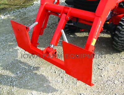 Kubota La203 La240a La243a Pin-on Loader To Skidsteer Quick Attach Adapter