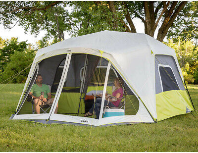 CORE 10-person Instant Cabin Tent with Screen Room, Instant
