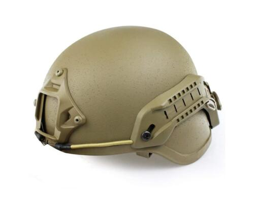 Airsoft Tactical Bump Helmet Military style with rails lightweight Adjustable