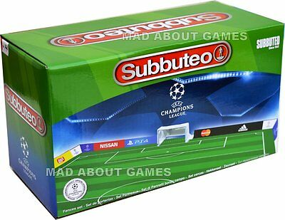 SUBBUTEO UEFA CHAMPIONS LEAGUE FENCES Pitch Surround Fence Football Soccer Game