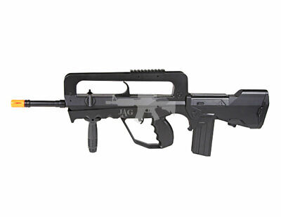 Well M46A M4 Tactical Spring Airsoft Rifle BBS FAMAS STYLE 300 FPS Full Size