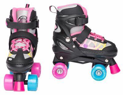 Mädchen Kinder Rollschuhe Quad Roller Skates Verstellbar Inliner SKY ENERO ()