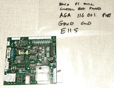 Emco F1 Cnc Mill Control Box Parts A6a116001 Pcb E11s