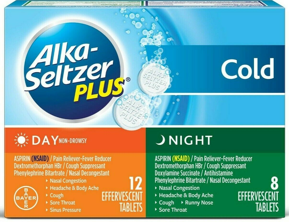 Alka-Seltzer Plus Day and Night Cold Medicine Effervescent T