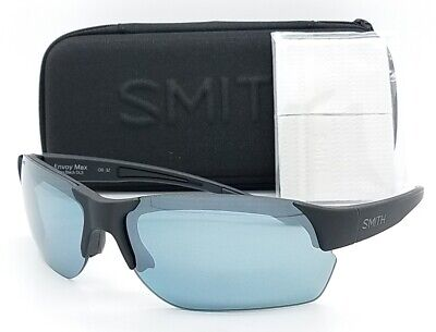 NEW Smith Envoy Max sunglasses Black Platinum ChromaPop Polarized $189 m flak (Smith Envoy Sunglasses)