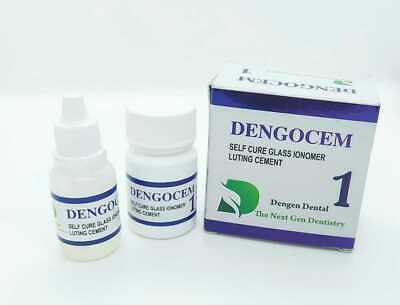 Dengen Se Permanent Dental Glass Ionomer Luting Tooth Cement Crown Bridge Veneer