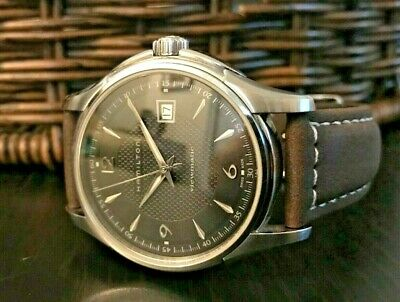 Hamilton Jazzmaster Viewmatic Mens Swiss Automatic 40mm Black Dial Watch