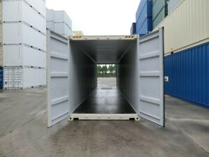 NEW SHIPPING CONTAINERS. ONE TRIP STORAGE CONTAINERS.  SEA CANS