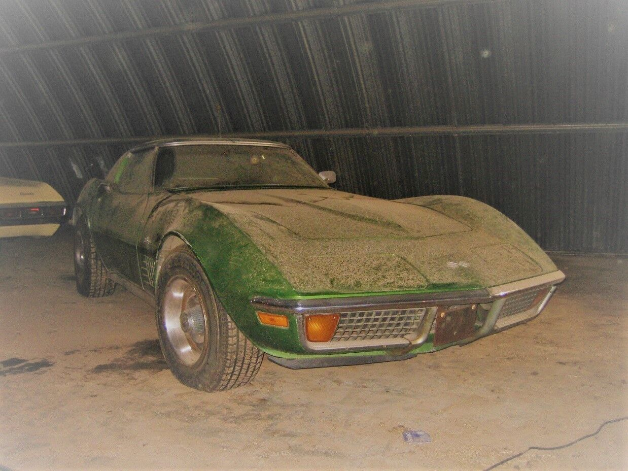 1972 Chevrolet Corvette Coupe 350 V8 4 Speed Manual – Project Car
