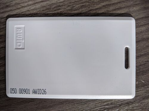 AWID PROX-LINC CS Clamshell Card - 26 bit - box of 100 cards