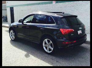 2010 Audi Q-5 S line fully loaded $21000