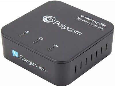 Polycom OBi200 1-Port VoIP Phone Adapter with Google Voice and Fax Support for H