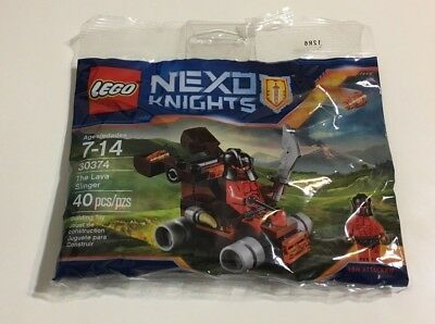 LEGO NEXO KNIGHTS 30374 THE LAVA SLINGER NEW SEALED