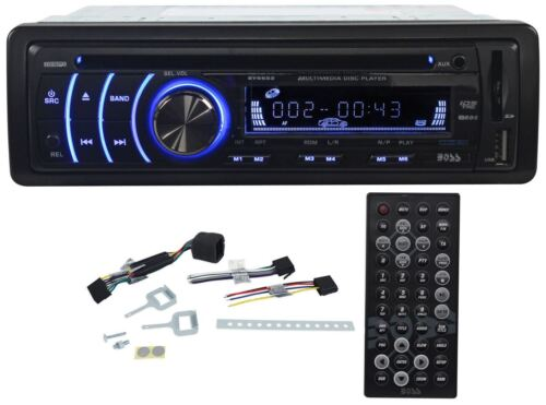 Купить Boss BV6652 - New Boss BV6652 In Dash Car DVD/MP3/CD Player Receiver AM/FM Radio w USB/SD/AUX