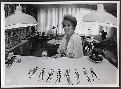 PATRICIA ZIPPRODT Tony Award Costume Designer Broadway, films VINTAGE ORIG PHOTO