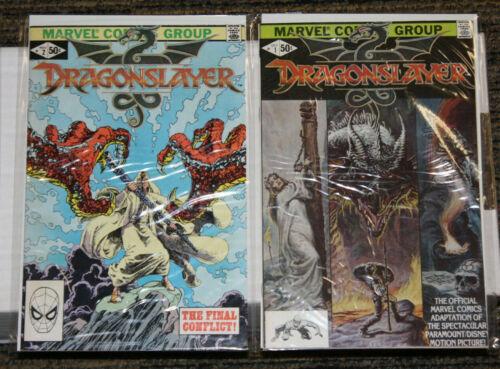 Marvel Dragonslayer #1-2 - COMPLETE SET - Movie Adaptation