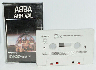 ABBA Arrival/Partially Play Tested/Cassette/Tape/Album 1467