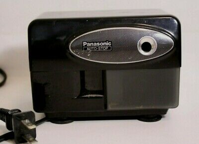 Vintage Panasonic Electric Pencil Sharpener Kp-310 Auto-stop W Suction Cup Feet