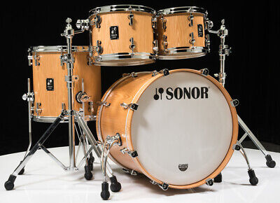 Sonor Prolite 4pc Studio Shell Pack 10/12/14/20 Natural Satin Clearance