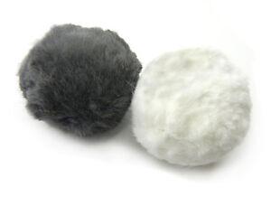 Rabbit Fur Rattle Ball Cat Toy - 2 Pak